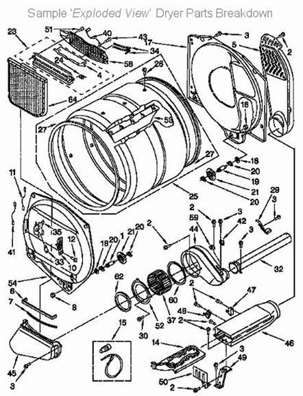 Ge Electric Dryer Schematic
